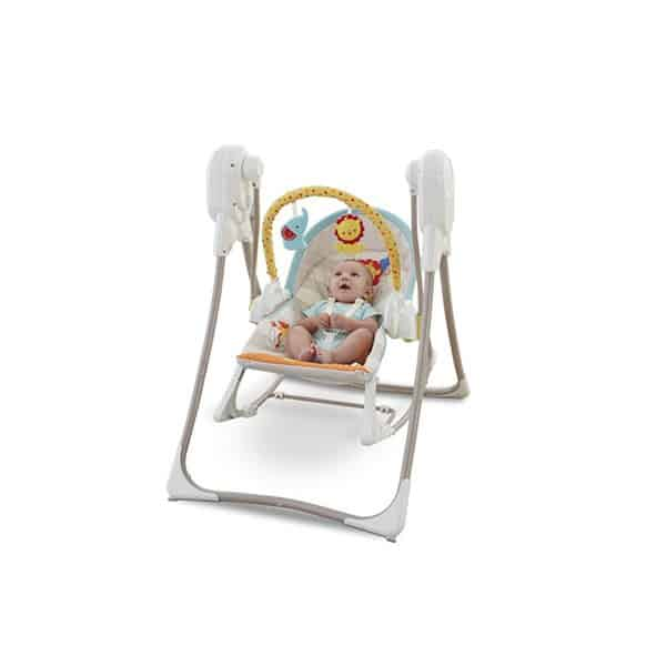 Fisher-Price 3-in-1 Swing n Rocker Κούνια ρηλάξ έως 18kg - Petit Kids Boutique