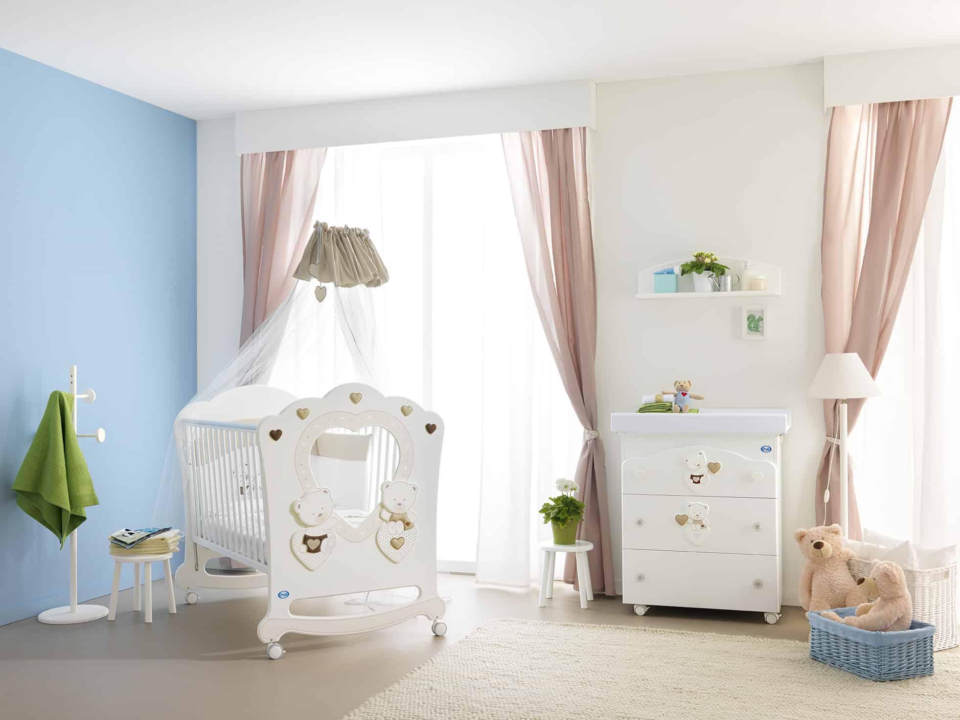 656ff6119f0 Βρεφικό κρεβατάκι PALI Celine Oblo - Petit Kids Boutique